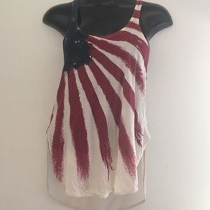 🦋 Others Follow American Flag Tank Top